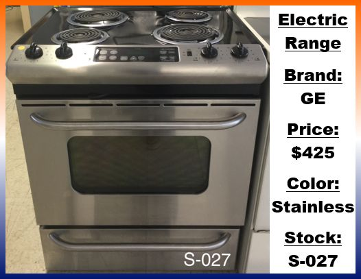 Kenmore Frigidaire Parts >> Mr. Appliance of Marion County - Ranges & StovesWe Offer Natural Gas & Propane Conversions